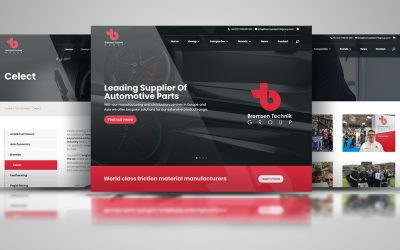 New Bremsen Technik Group Website Launch
